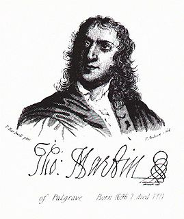 Thomas Martin of Palgrave English antiquarian and lawyer