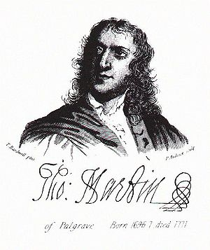 "Thomas Martin of Palgrave - ""Honest Tom"" Martin, of Palgrave"
