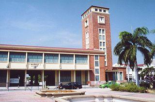 Empfangsgebäude des ursprünglichen Bahnhofs Bangkok-Thonburi