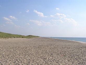 HMS Defence (1763) - The beach near Thorsminde