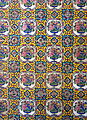 Tiles on the entrance of Shah Nematollah Vali Shrine 02.JPG