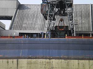 Tim S. Dool moored at the Redpath Sugar Refinery -h.jpg