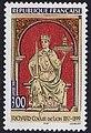 Timbre du 800e anniversaire de la mort de Richard Coeur de Lion.jpg