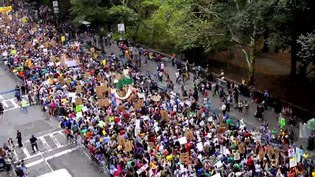 File:Time-Lapse Footage - Columbus Circle - People's Climate March.webm