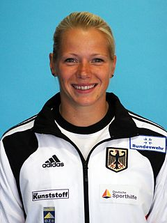 Tina Dietze German sprint canoer