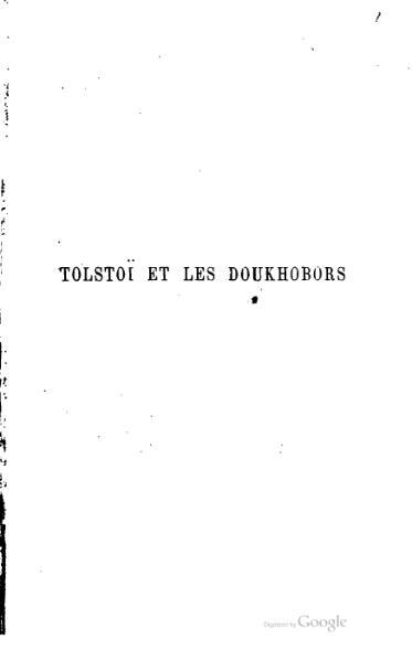 File:Tolstoi et les Doukhobors.djvu