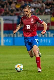 Tomáš Souček Czech football player