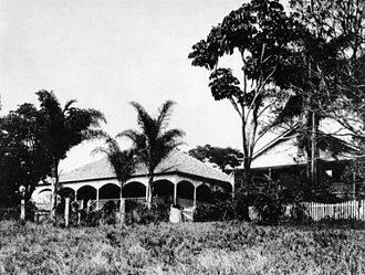 Petrie, Queensland - Tom Petrie's residence