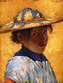 Tom Roberts, 1883 - Una muchacha.jpg