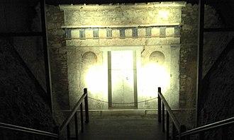 Alexander IV of Macedon - Tomb III in Vergina, probably belonged to Alexander IV