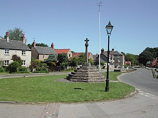 Linby village in the United Kingdom