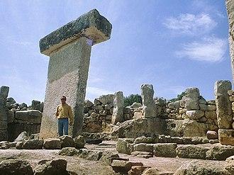 Spanish art - Talaiotic town of Torralba den Salord site, Menorca island
