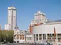 Torre de Madrid - Edificio España - Real Compañía Asturiana de Minas - Senado.jpg