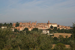 Panorama of Torrita di Siena