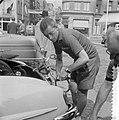 Tour de France , in Charleroi, de Nederlandse ploeg. Wout Wagtmans , zijn fiets , Bestanddeelnr 908-7408.jpg