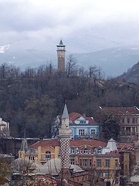 Tower from old town plovdiv.JPG