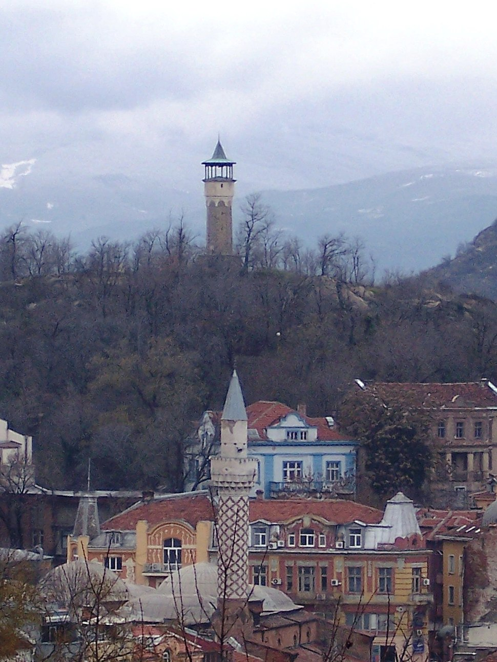 Tower from old town plovdiv