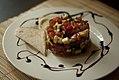 Tower of sliced raw vegetables (5946085930).jpg