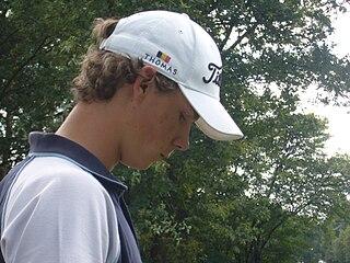 Thomas Pieters Belgian golf player