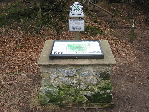Toy's Hill Information Panel - geograph.org.uk - 1757255