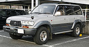 1995-1997 Toyota Land Cruiserwith an electric winch(HDJ81V Japan)