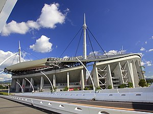 Toyota, Aichi - Image: Toyota Stadium, Shirahama cho Toyota 2011