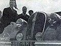 Trévoux (G.) et Lesurque (D.) à l'arrivée du rallye Monte-Carlo 1939.jpg