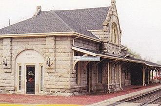 Warrensburg station - Warrensburg, Missouri train depot