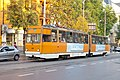 Tram in Sofia near Macedonia place 2012 PD 090.jpg