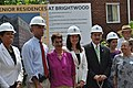 Treasurer Rios at a groundbreaking on new Vida Senior Residence funded in part by the Recovery Act, 7-27-2010 (4834610635).jpg