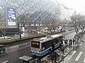 Trolley Bus Line 102 in Xidan, Beijing.jpg