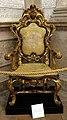 Trono usato da papa pio VI in visita a verona nel 1782, da s. silvestro a vr.jpg