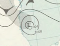 Tropical Storm Inga analysis 6 Nov 1961.png