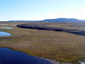 Devon Island - Truelove Lowland, a polar oasis located in Devon Island