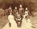 Tsar Ferdinand I of Bulgaria and his family.jpg
