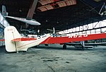 Tupolev ANT-25 ADDITIONAL INFORMATION- URSS N025. This is a replica of Tupolev ANT-25 URSS N025. The Tupolev ANT-25 was a Soviet long-range experimental aircraft which was also tried as a bomber. (18391140345).jpg