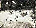 Tupua Tamasese Lealofi III lying in state at Vaimoso 1930 - AJ Tattersall.jpg