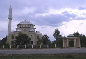 Naryn Region - A mosque in Naryn