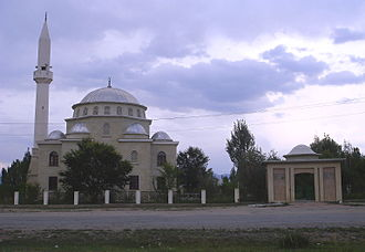 Naryn Region - A mosque in Naryn