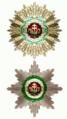 Twee sterren van de Orde van Sint Stephanus.png