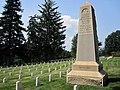 Twenty-eighth Regiment New York Volunteer Infantry Memorial at Culpeper National Cemetery.JPG