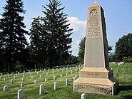 Twenty-eighth Regiment New York Volunteer Infantry Memorial at Culpeper National Cemetery