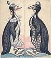 Two penguins , male and female MET DP804811.jpg