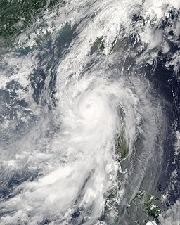 Typhoon Conson (2004) Pacific typhoon in 2004