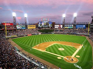 Guaranteed Rate Field Baseball park in Chicago, IL, USA