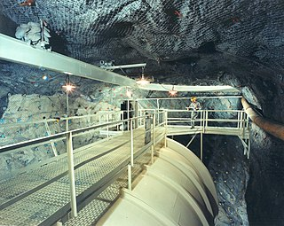 Homestake experiment Underground experiment to count solar neutrinos