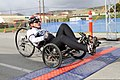 U.S. Marine Corps Lance Cpl. Levi Marshall crosses the finish line first to earn the gold medal in the 10-kilometer men's handcycle event during the 2012 Marine Corps Trials at Marine Corps Base Camp Pendleton 120219-M-VW165-285.jpg