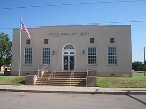 Colorado City, Texas - Image: U.S. Post Office, Colorado City, TX IMG 4535