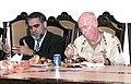 U.S Army Joint Task Force 76 having dinner with Yusuf Pashtun 2 07-12-2004.jpg