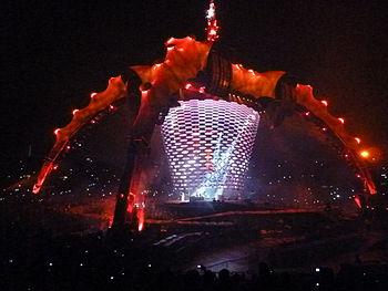 U2 360%C2%B0 Tour en Chile